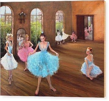 Hall Of Dance Wood Print by Graham Keith
