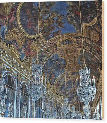 Hall Of Mirrors - Versaille Wood Print
