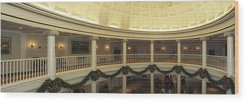 Hall Of Presidents Walt Disney World Panorama Wood Print by Thomas Woolworth