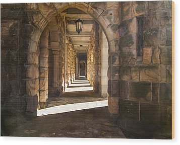 Hallowed Halls Wood Print