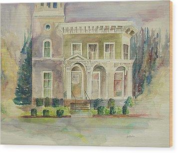 Hamden House Wood Print
