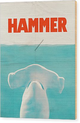 Hammer Wood Print by Eric Fan