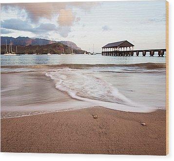 Hanalei Dawn - Kauai, Hawaii Wood Print