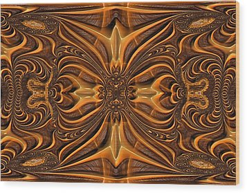 Hand-tooled Wood Print by Wendy J St Christopher