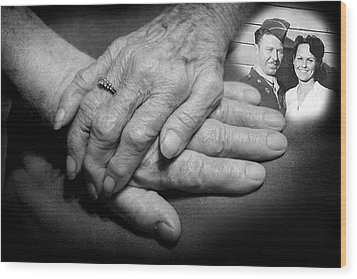 Wood Print featuring the photograph Time On Our Hands by Shirley Heier