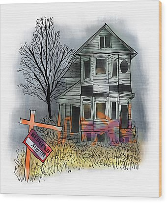 Handyman's Special Wood Print by Mark Armstrong