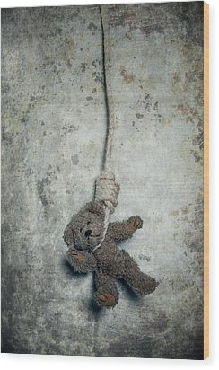 Hanging On The Gallows Wood Print by Joana Kruse