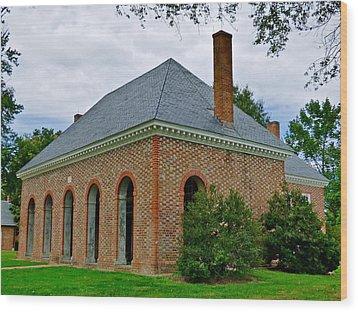 Hanover County Courthouse Wood Print