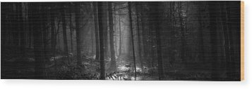 Hansel And Gretel Wood Print by John Chivers