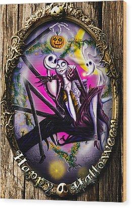 Happy Halloween IIi Wood Print
