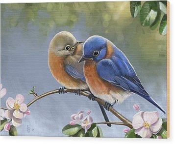 Happy Together Wood Print
