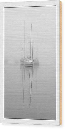 Harbor Fog No.1 Wood Print