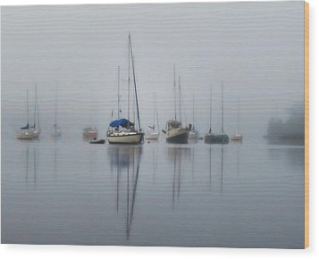 Harbor Rest Wood Print