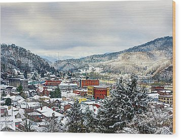 Harlan Ky Winter Wood Print