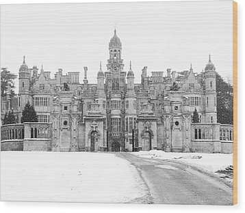 Harlaxton Manor Wood Print by Tiffany Erdman
