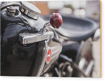 Harley Davidson Jockey Shift Wood Print