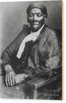 Harriet Tubman  Wood Print by American School