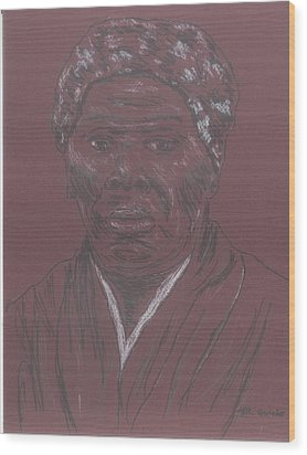 Harriet Tubman Wood Print by Bob Gumbs