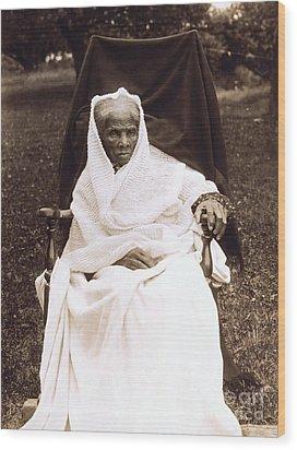 Harriet Tubman Portrait 1911  Wood Print by Unknown