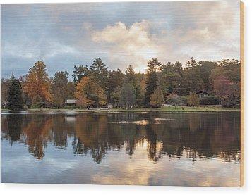 Harris Lake Highlands Nc Wood Print