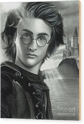 Harry Potter And The Goblet Of Fire Wood Print