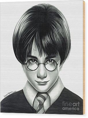 Harry Potter And The Philosopher's Stone Wood Print