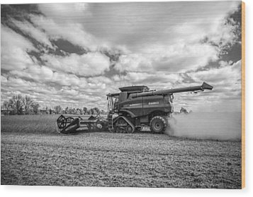 Harvest Time Wood Print by Dale Kincaid