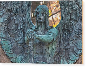 Haserot Angel Wood Print
