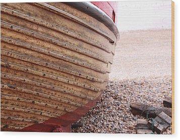 Hastings Clinkerboats Detail Wood Print