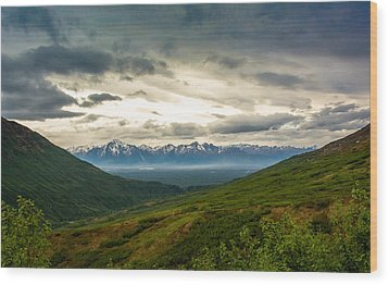 Hatcher Pass Alaska Wood Print