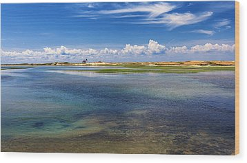 Hatches Harbor Wood Print by Bill Wakeley