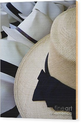 Hats Off To You Wood Print by Lainie Wrightson