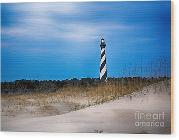 Hatteras Morning Light Wood Print by Tony Cooper