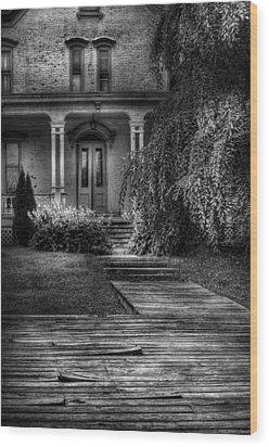 Haunted - Haunted II Wood Print by Mike Savad