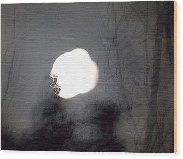 Haunted Night 2 Wood Print