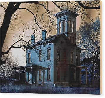 Haunted Sauer Castle Wood Print by Christopher McKenzie
