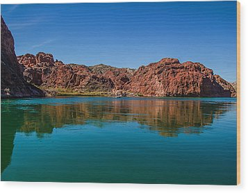 Wood Print featuring the photograph Havasu Glass by April Reppucci