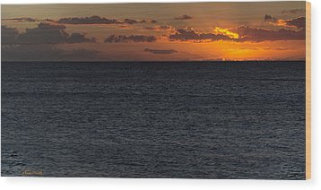 Wood Print featuring the photograph Hawaiian Nights  by Heidi Smith
