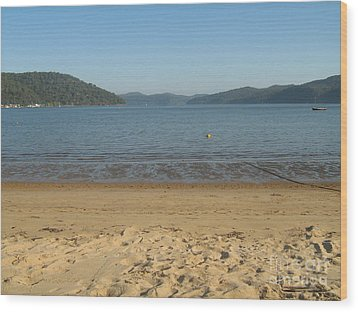 Wood Print featuring the photograph Hawksbury River From Dangar Island by Leanne Seymour