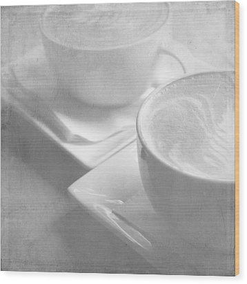 Wood Print featuring the photograph Hazy Morning Moments 2 by Lisa Parrish