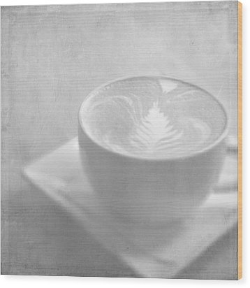 Wood Print featuring the photograph Hazy Morning Moments by Lisa Parrish
