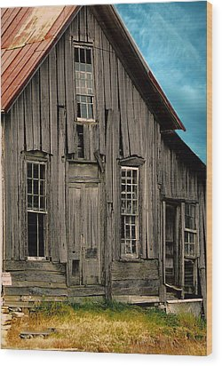 Shack Of Elora Tn  Wood Print by Lesa Fine