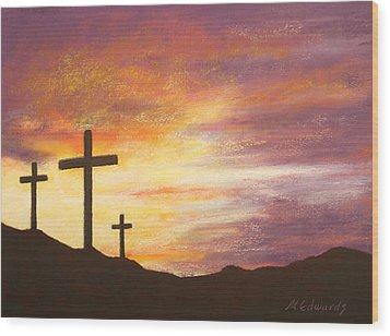 He Is Risen Wood Print by Marna Edwards Flavell