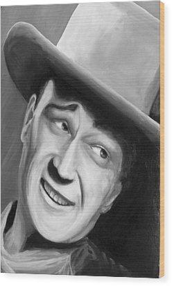 He Played A Cowboy Wood Print