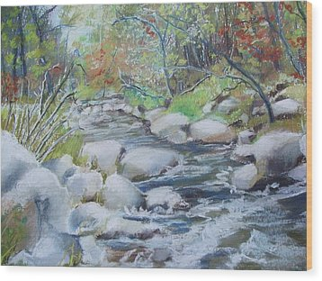 Head Waters On The James River Wood Print