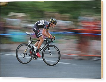 Wood Print featuring the photograph Heading For The Finish Line by Kevin Desrosiers