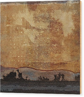 Heading West Wood Print by Carol Leigh