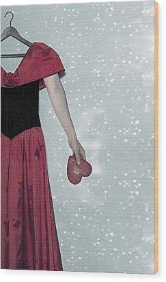 Headless Love Wood Print by Joana Kruse