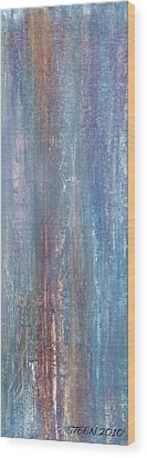 Healing Rain IIi Wood Print