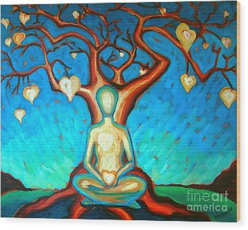 Heart And Soul Wood Print